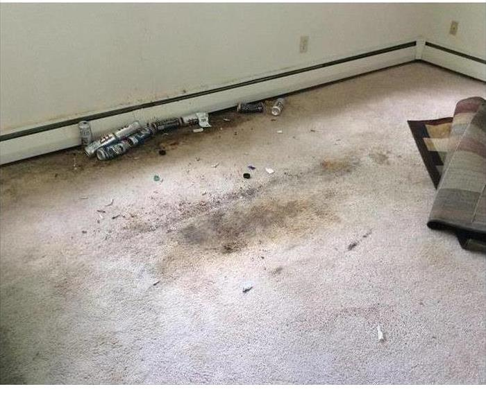 Dirty Apartment in Irondequoit, NY Before